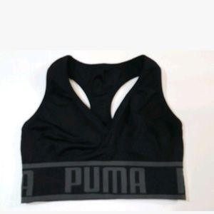 Puma Sports Bra Black Women's Size Small